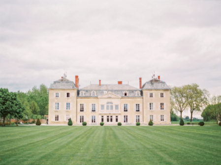 Burgundy, France Dreamy Wedding Inspiration - Chateau de vareness