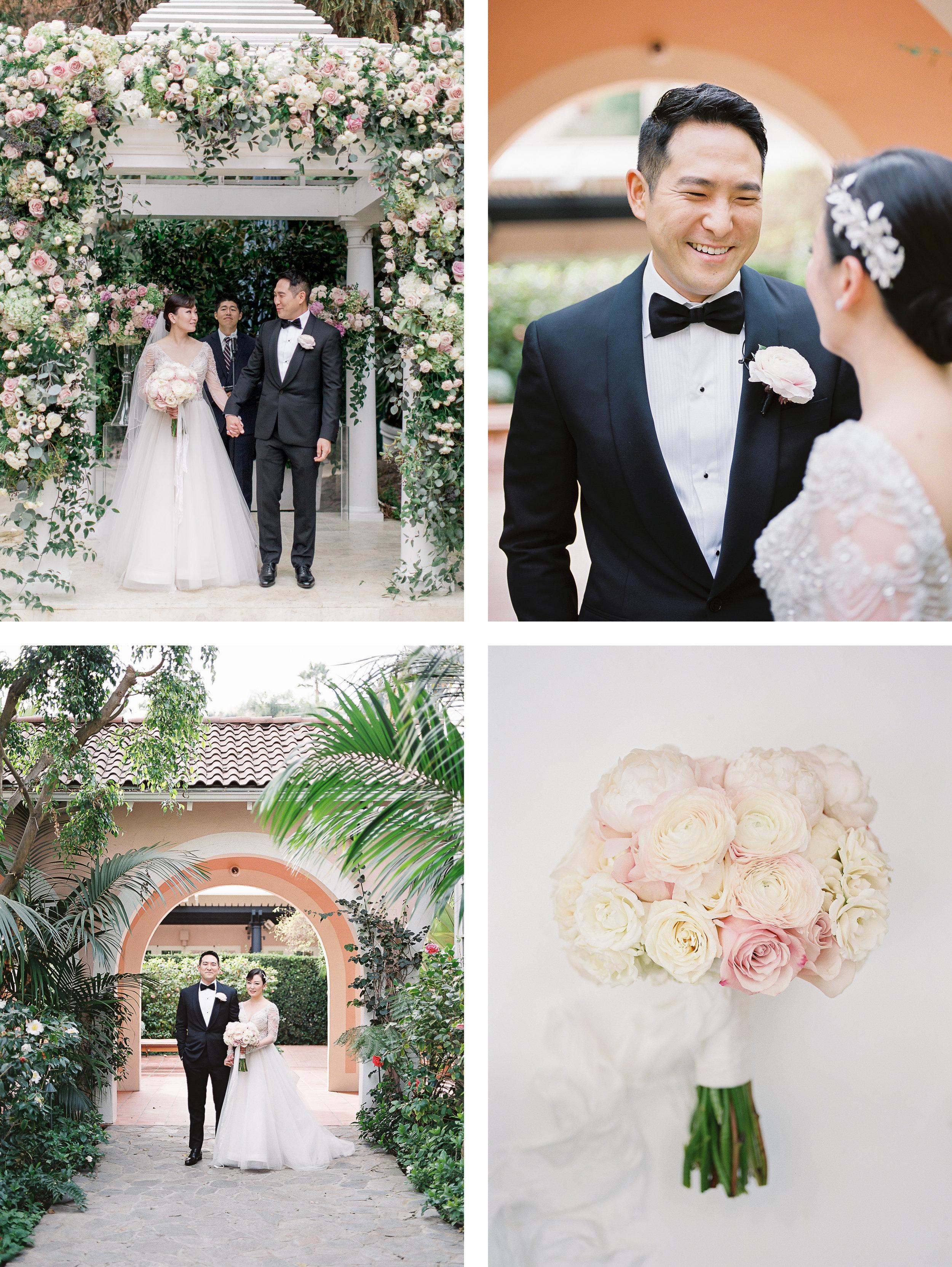 BEL-AIR WEDDING AT HOTEL BEL-AIR - eric + elizabeth