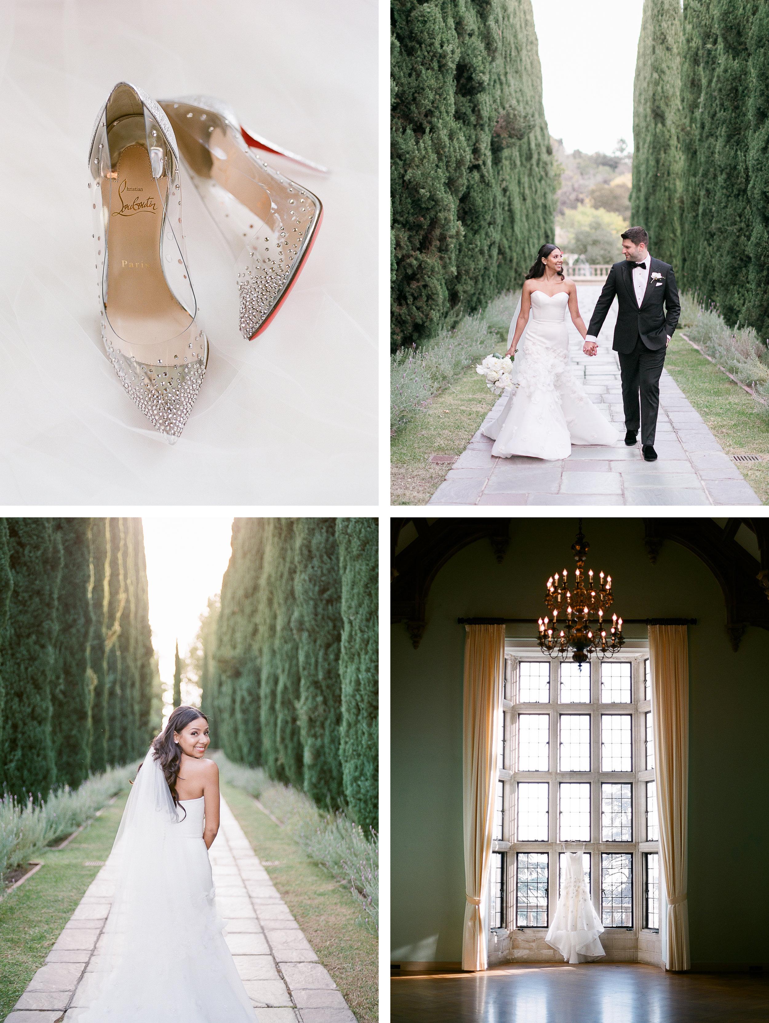 BEVERLY HILLS WEDDING AT GREYSTONE MANSION - Patti + mario