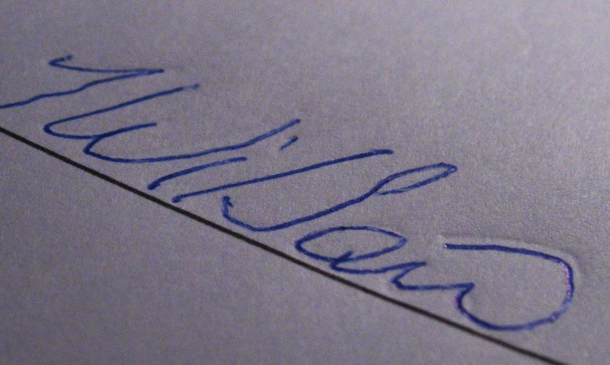 forged signature - trace method simulation