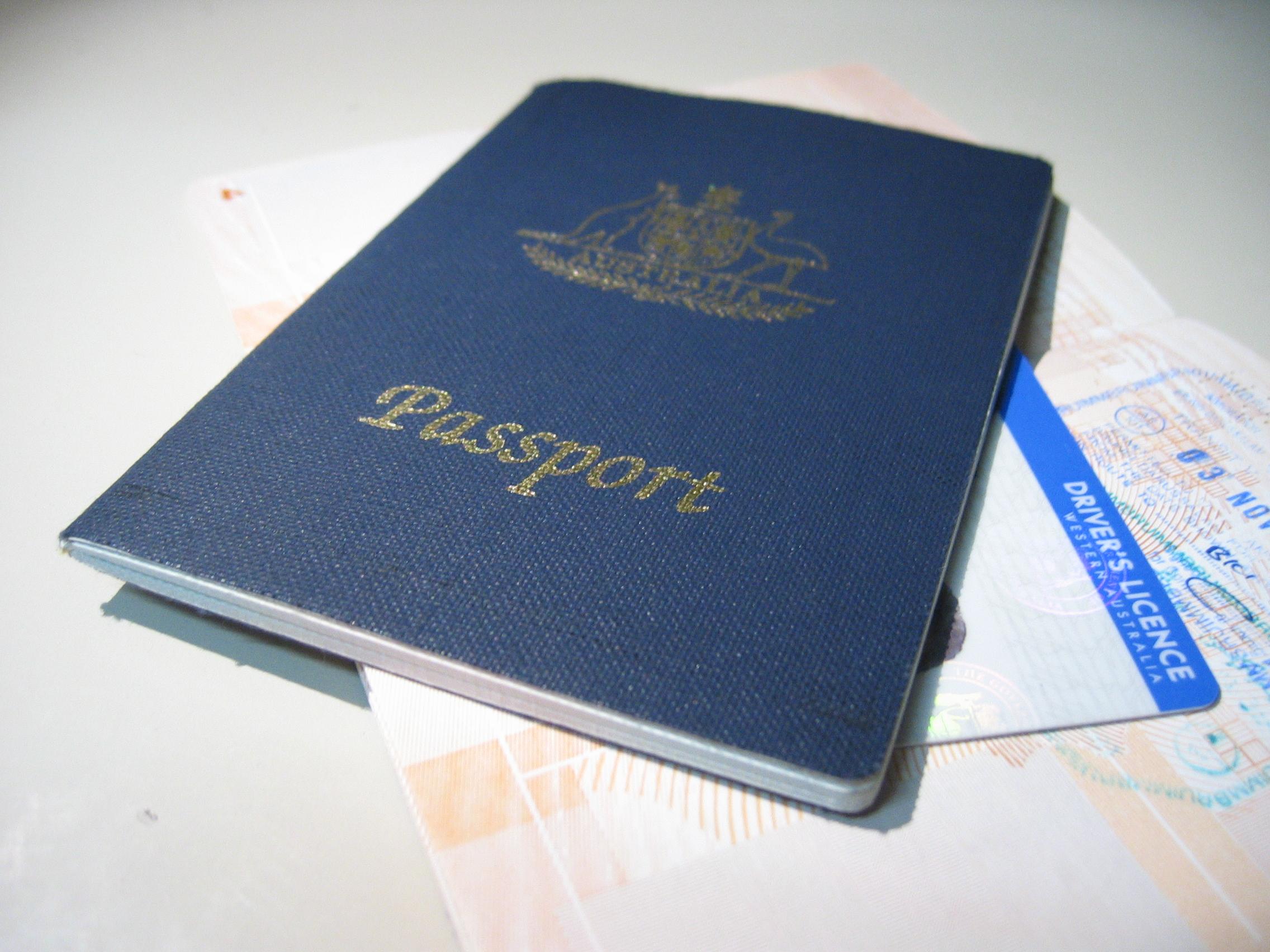 passports - drivers license - identity documents