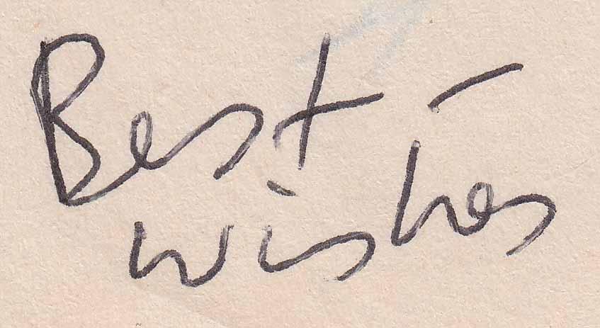Genuine Handwriting