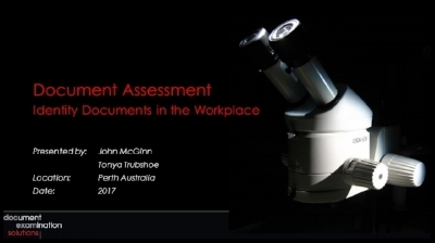 Identity Documents in the Workplace