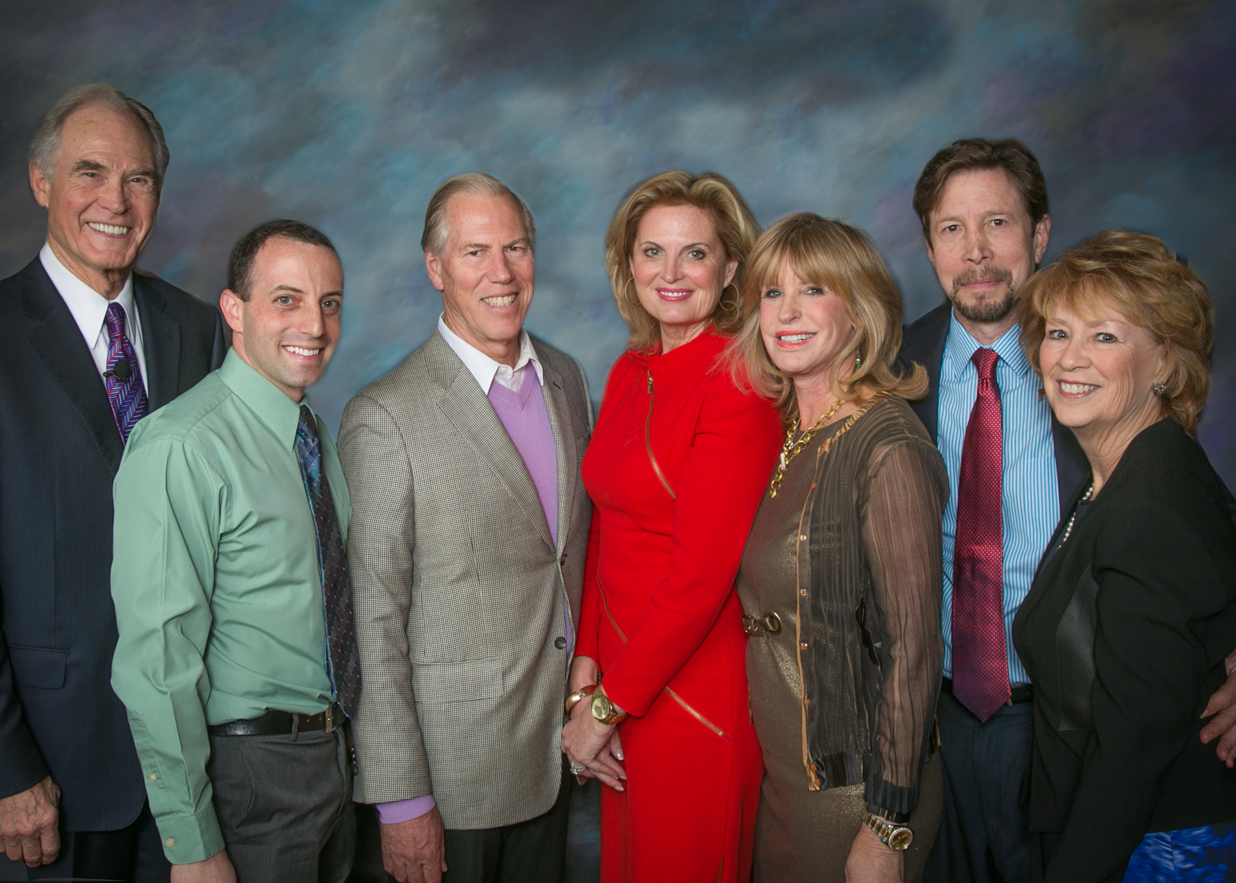 Members of the Board with Ann Romney at a 2013 Fundraising Event: Visions of Success - From Research to Reality