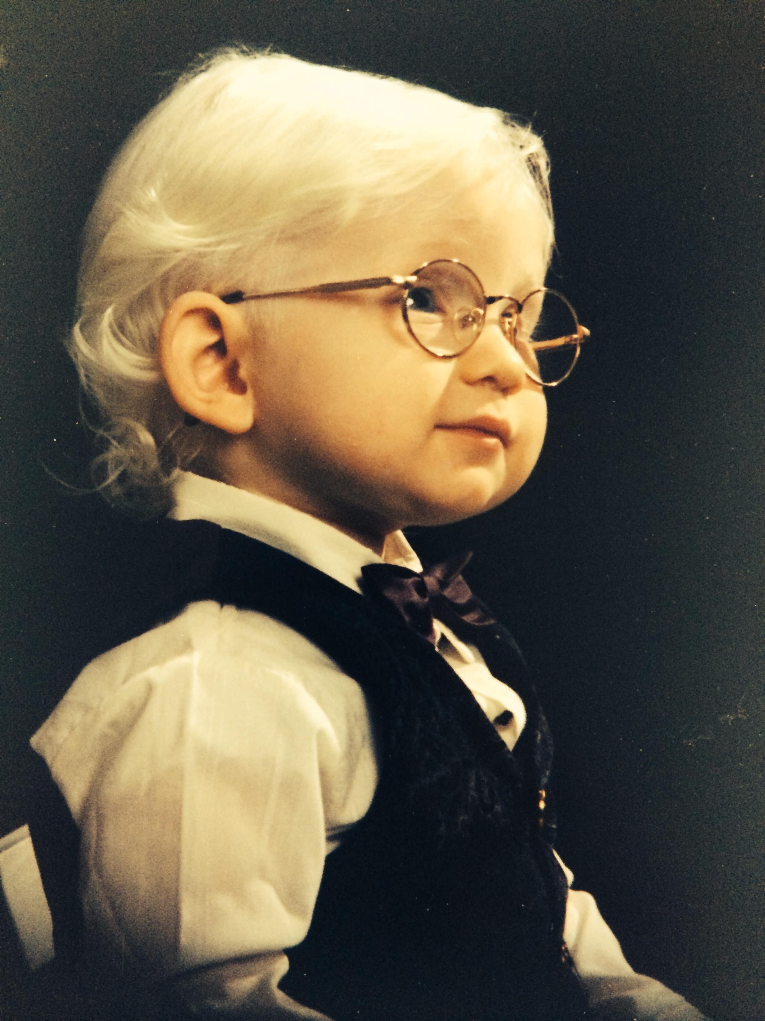 Ryan at age 1