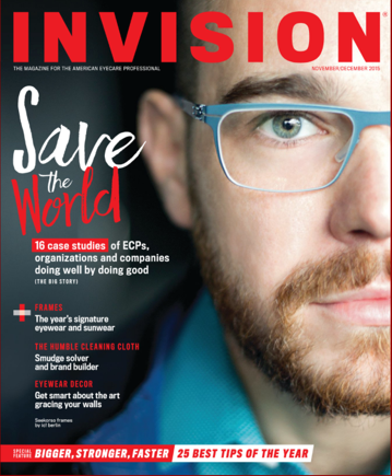 cover of Invision mag
