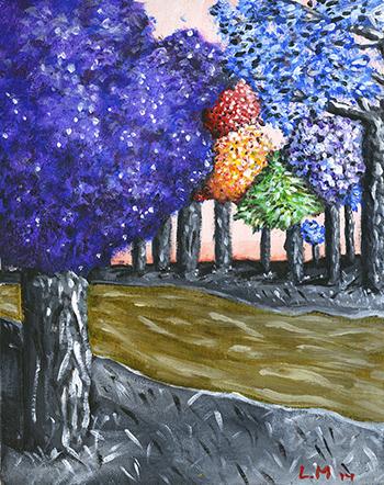 Song of the Strange Woods, Lauren Mills