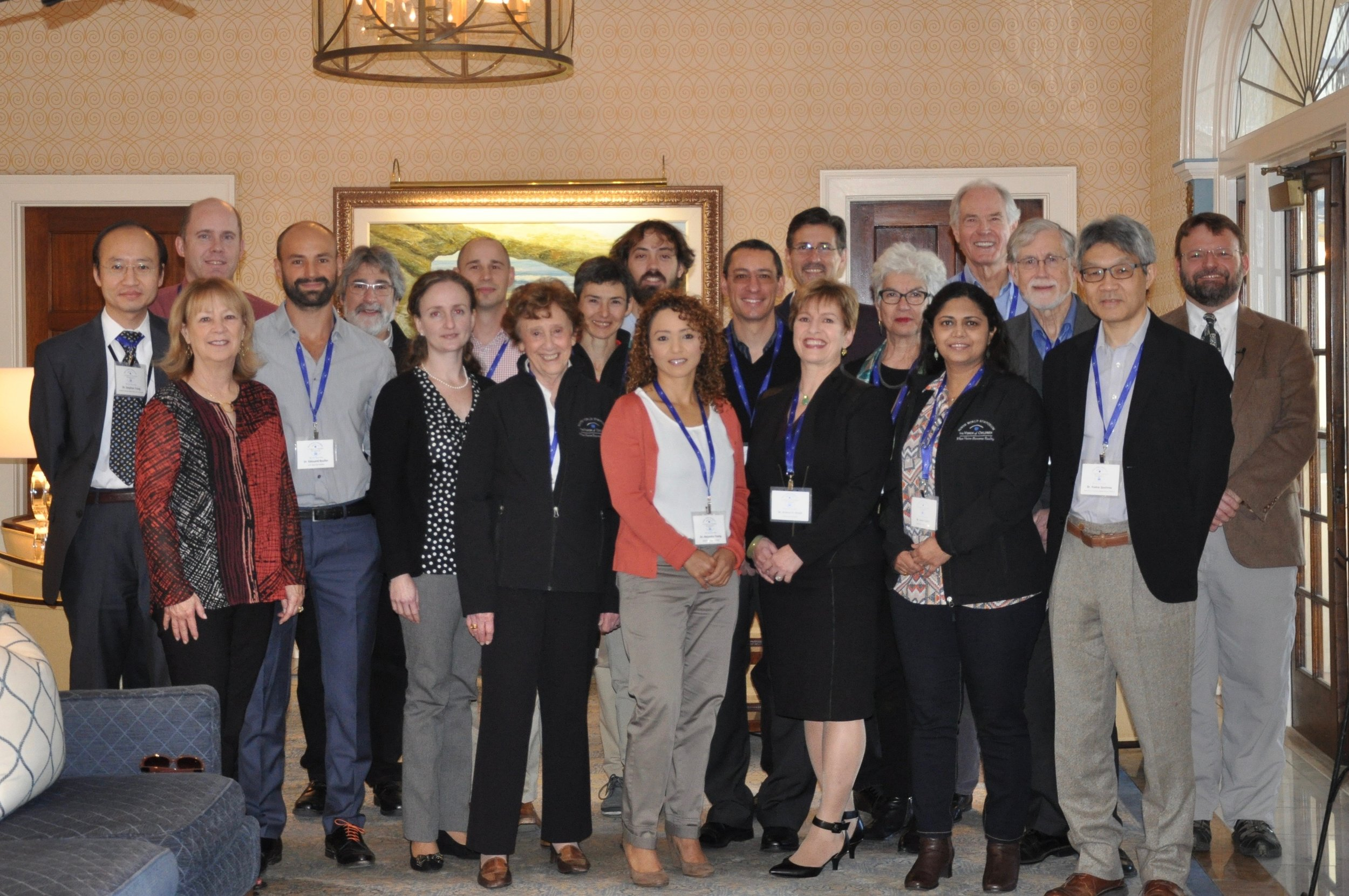 Researchers and VOC Founders at the Ninth World Symposium on Vision Disorders hosted by The Vision of Children Foundations