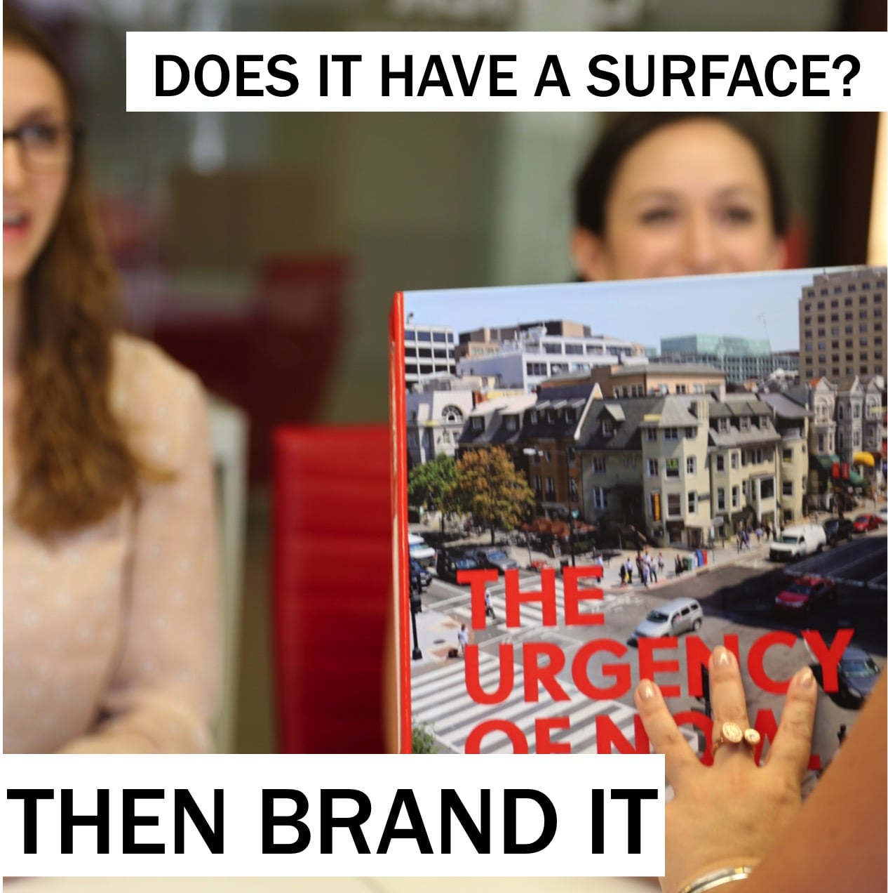 12PM: There is no item I touch that I don't want properly branded. Why waste an opportunity to create an impression? ~@szoldak #branding