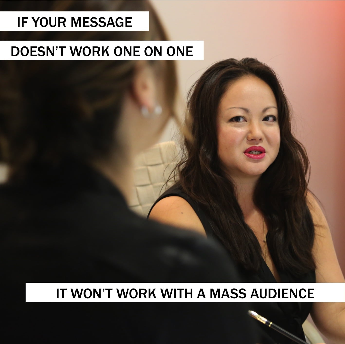 2PM: If your message doesn't work one on one, it doesn't work period. If you can't explain a communications story to a colleague, it's too complicated. ~@szoldak #storytelling
