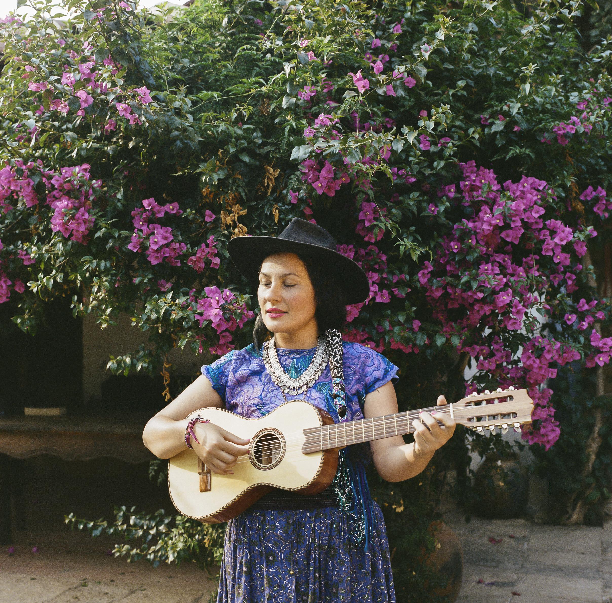 Flora, Musician. Chiapas, Mexico