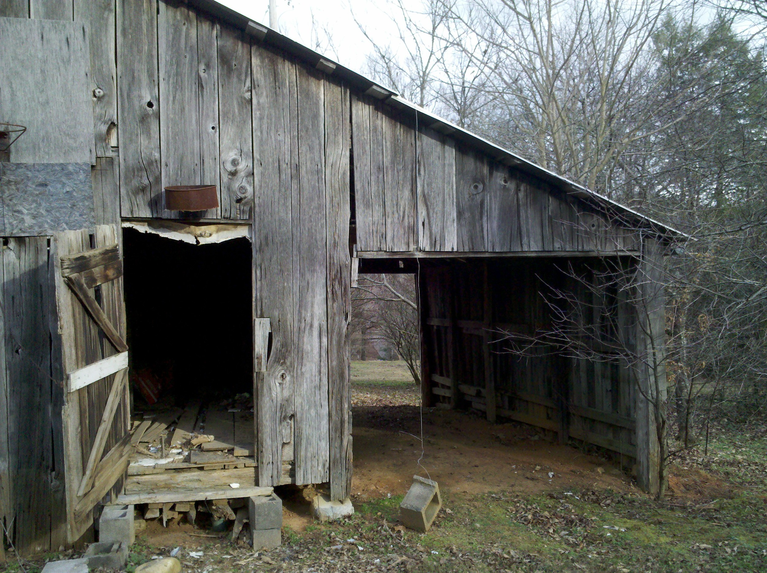 Plenty of great material came out of this barn!