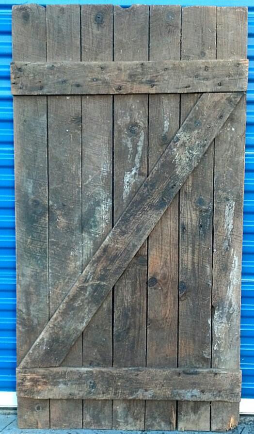 Barn Door #1 Back