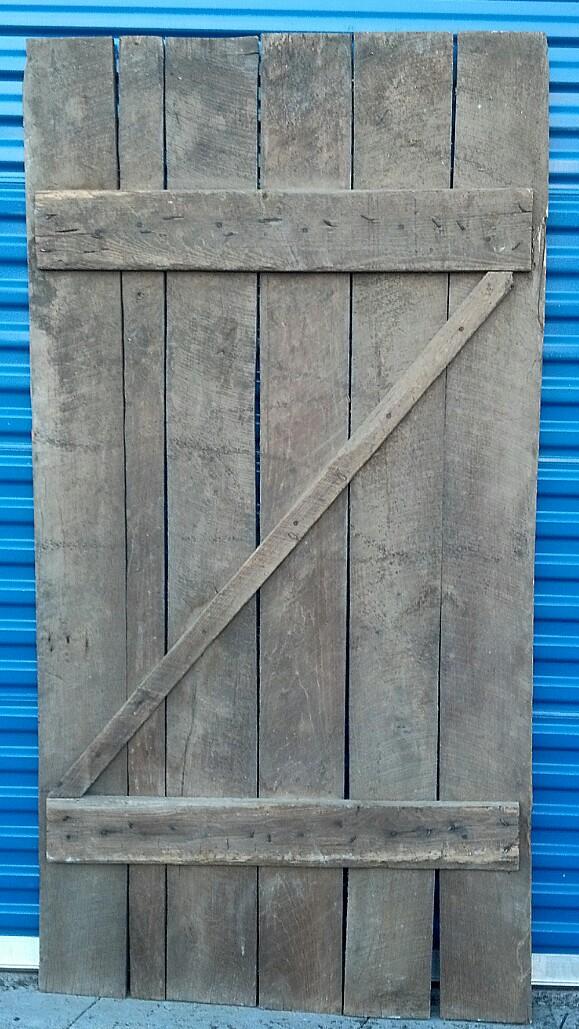 Barn Door #3 Back