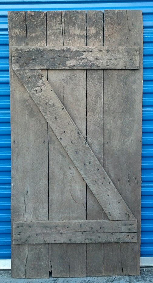 Barn Door #4 Back