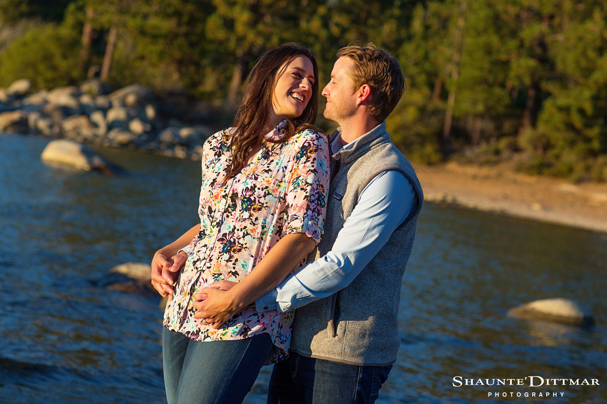 Zephyr Cove Engagement Photos