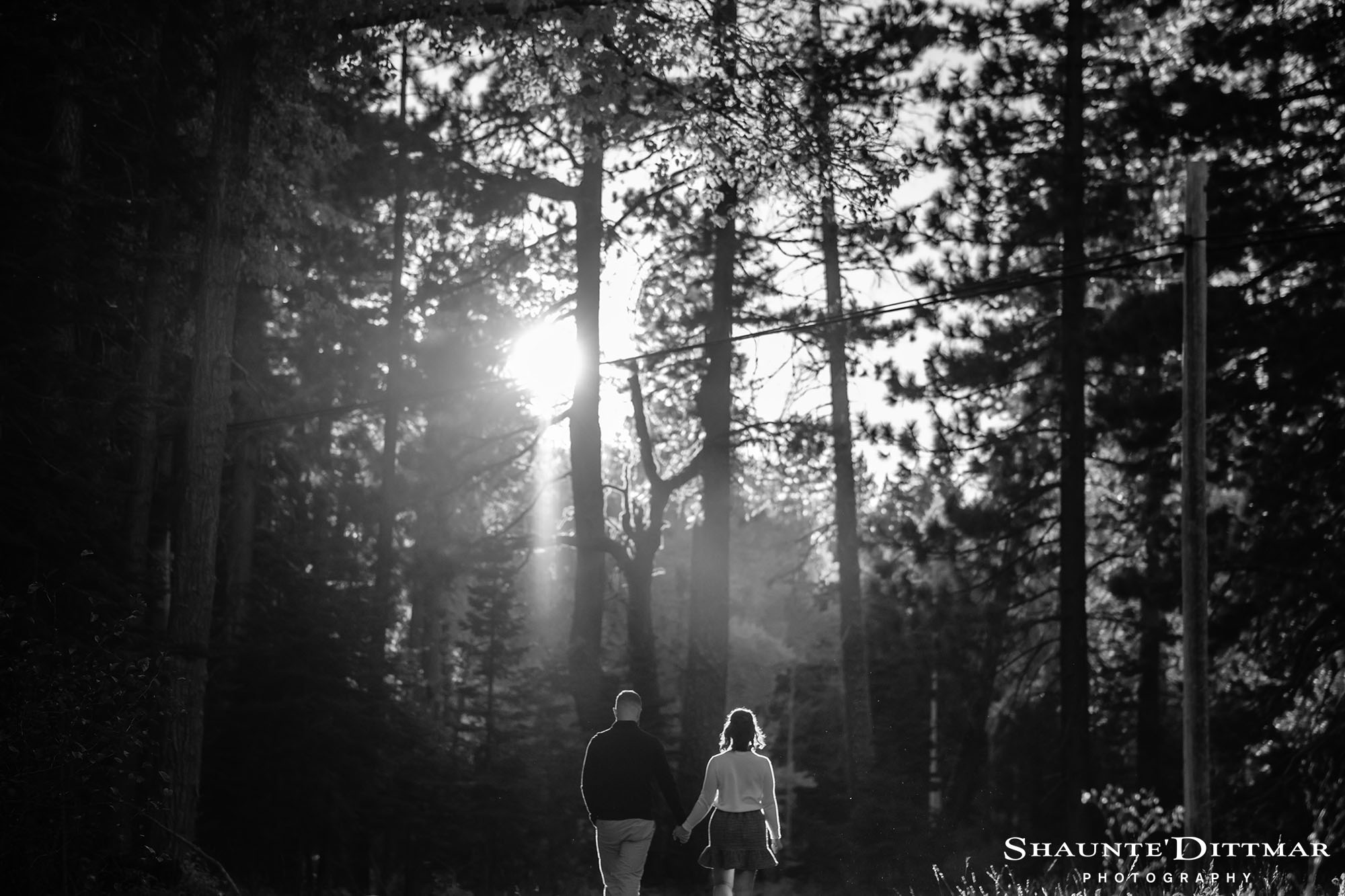 Eagle Rock Engagement Lake Tahoe