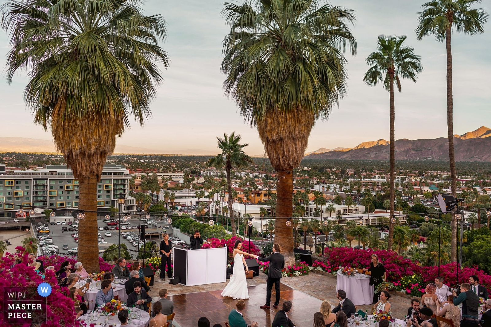 Palm Springs Odonnell House Wedding
