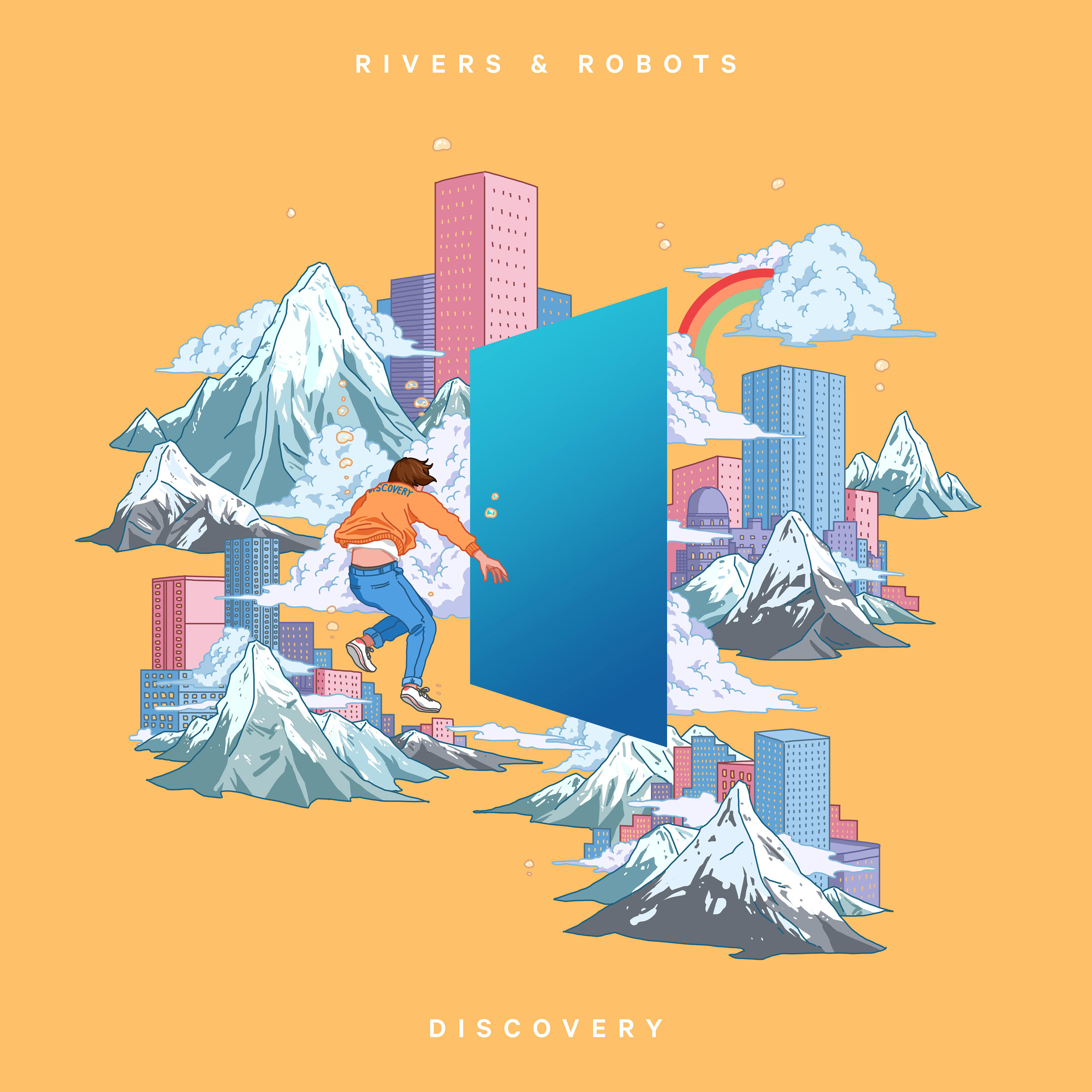 DISCOVERY  The new album from Rivers & Robots. Releasing  September 14 2018