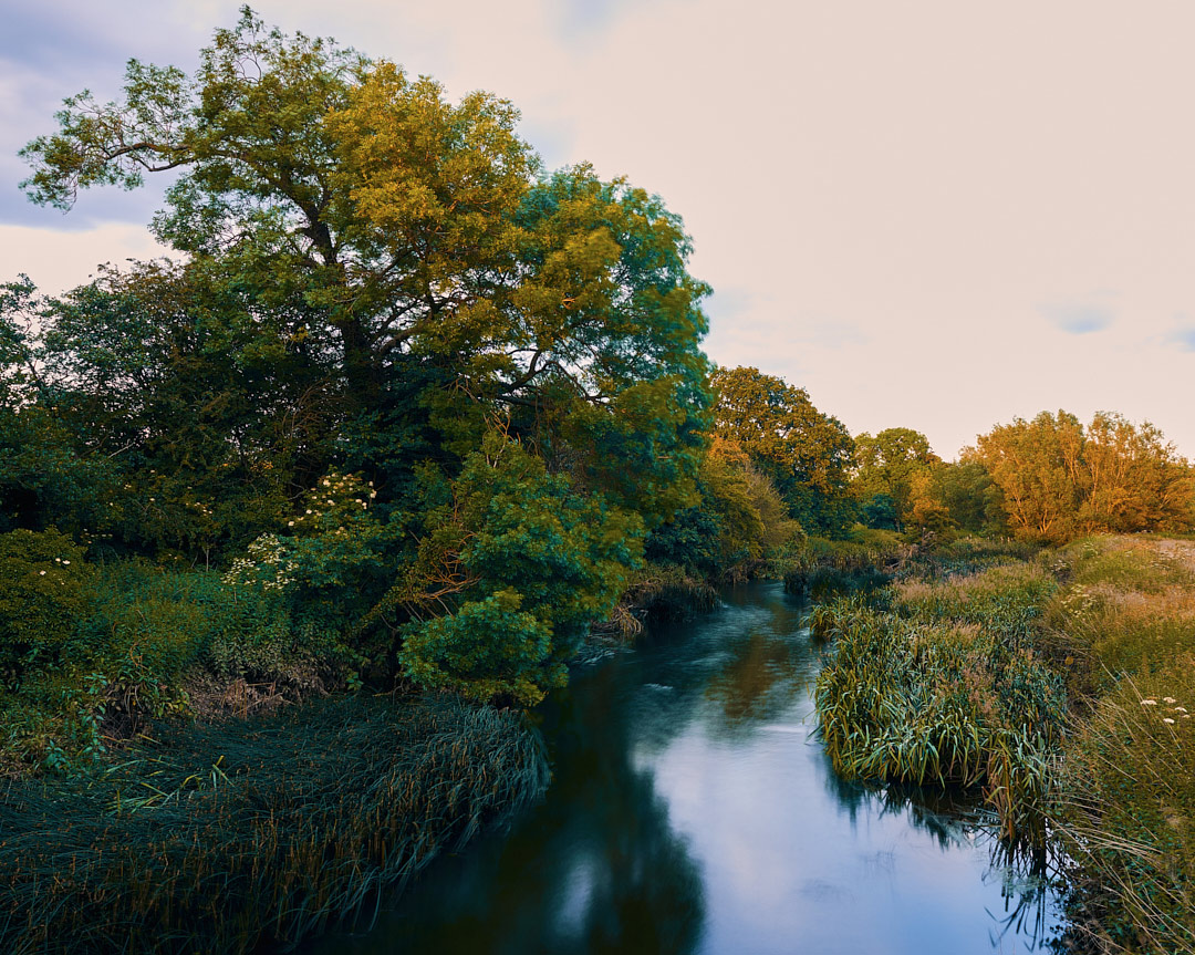 Follow the flow. Ashow and the river Avon, England.