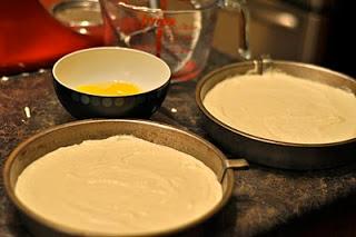 late night cake baking