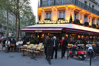 the café with 9 euro pints, but how can you say 'no' to all that atmosphere?