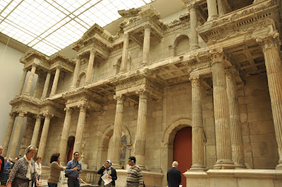 The Ancient Market Gate of Miletus inside the Pergamon museum - worth checking out.