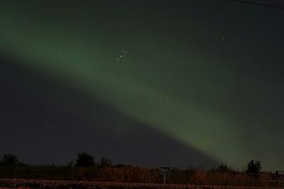 the beautiful aurora borealis