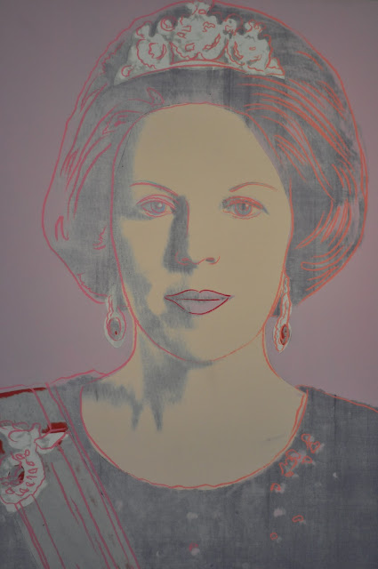 'Queen Beatrix' by Andy Warhol