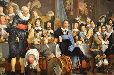 17th C. Militia Painting - It was enormous and the detail was fantastic