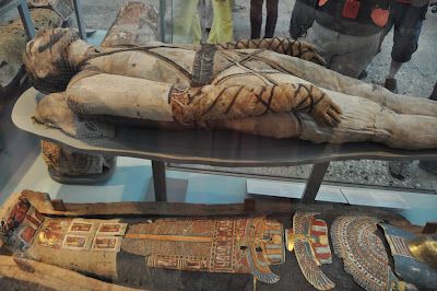 The mummies were very cool - the collection was huge.