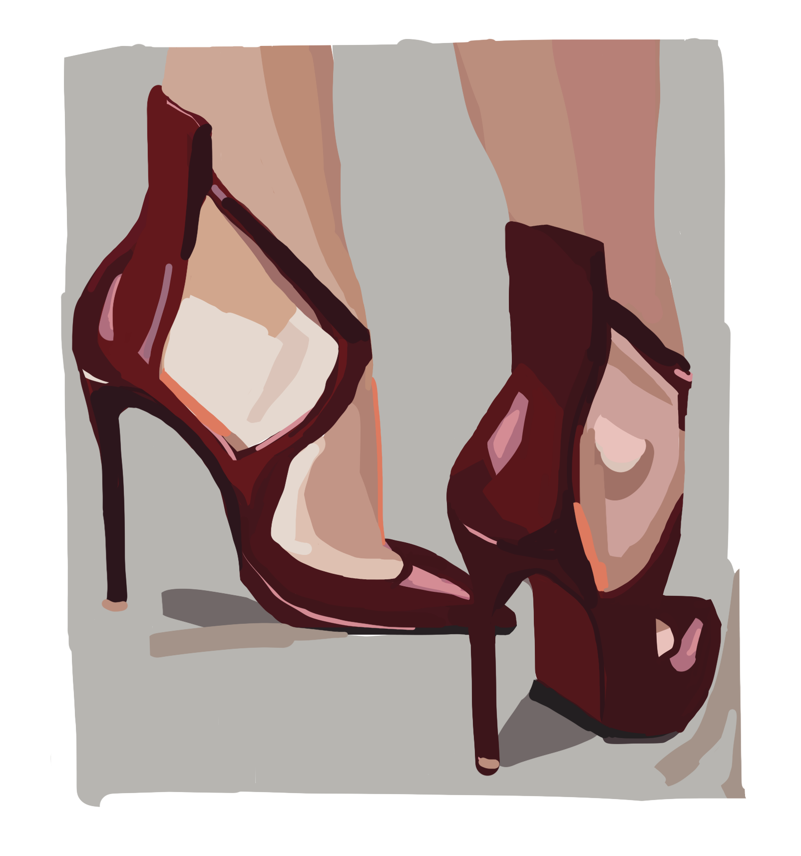 Laura Collins Red Louis Vuittons 2018.png