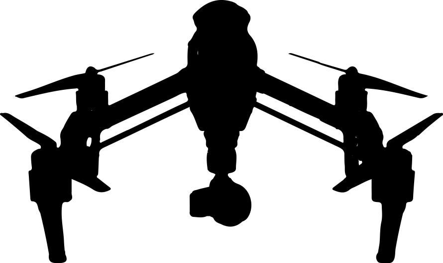 DJI Inspire vector (landing)