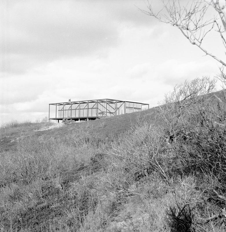Hatch House, Wellfleet, Mass. (Jack Hall, 1962) Photo: Jack Hall, courtesy of Noa Hall