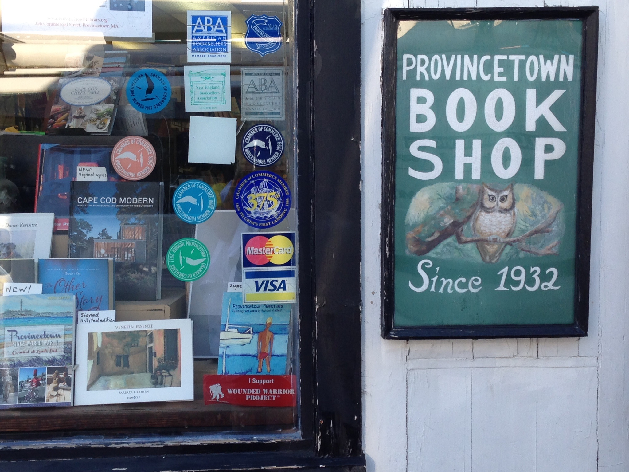 Provincetown Book Shop, July 2014 Photo: Christine Cipriani