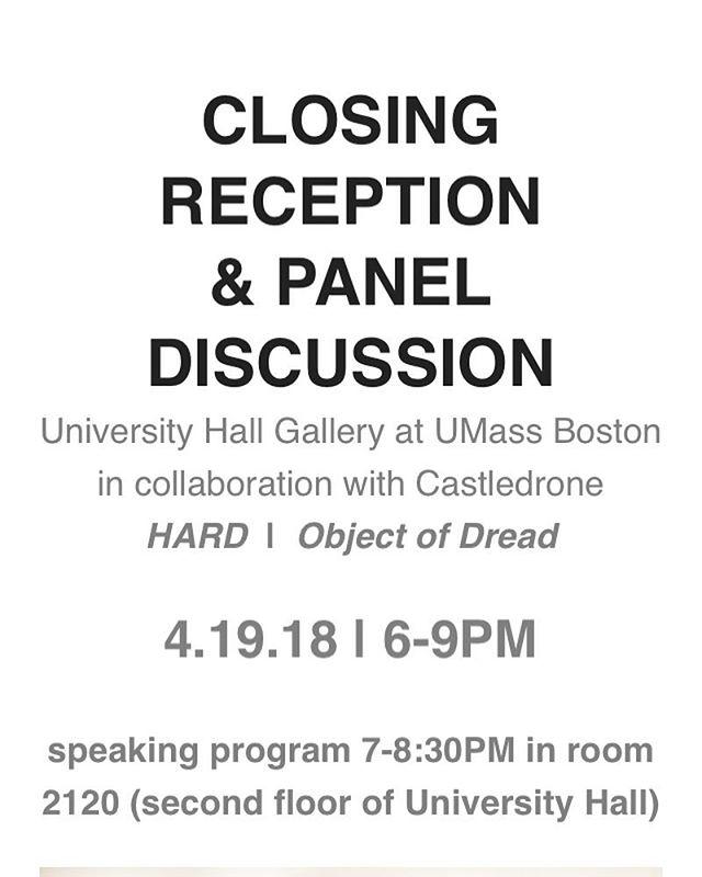 Tonight! Come see me wag my 👅👅👅. @uhgallery  #artisttalk #paneldiscussion #agency #visibility #bostonartist #Hard #subversiverepresentation #objectofdread #desire @castledrone #castledrone