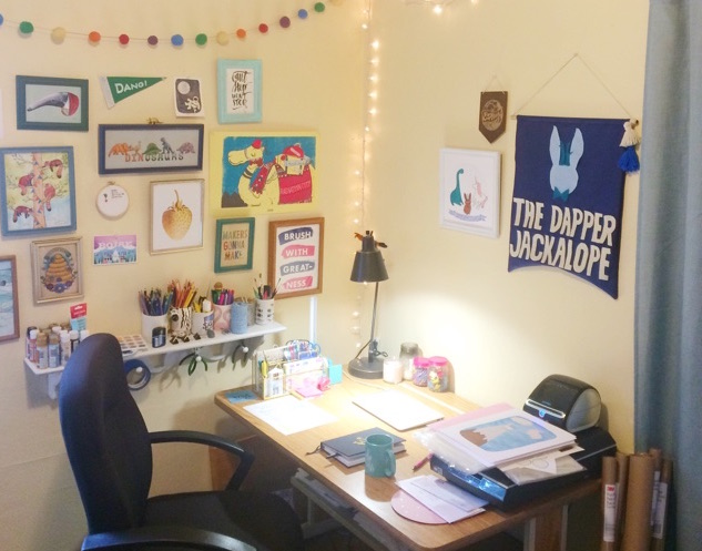 Coming soon: a post about how I built the space all this happens in!