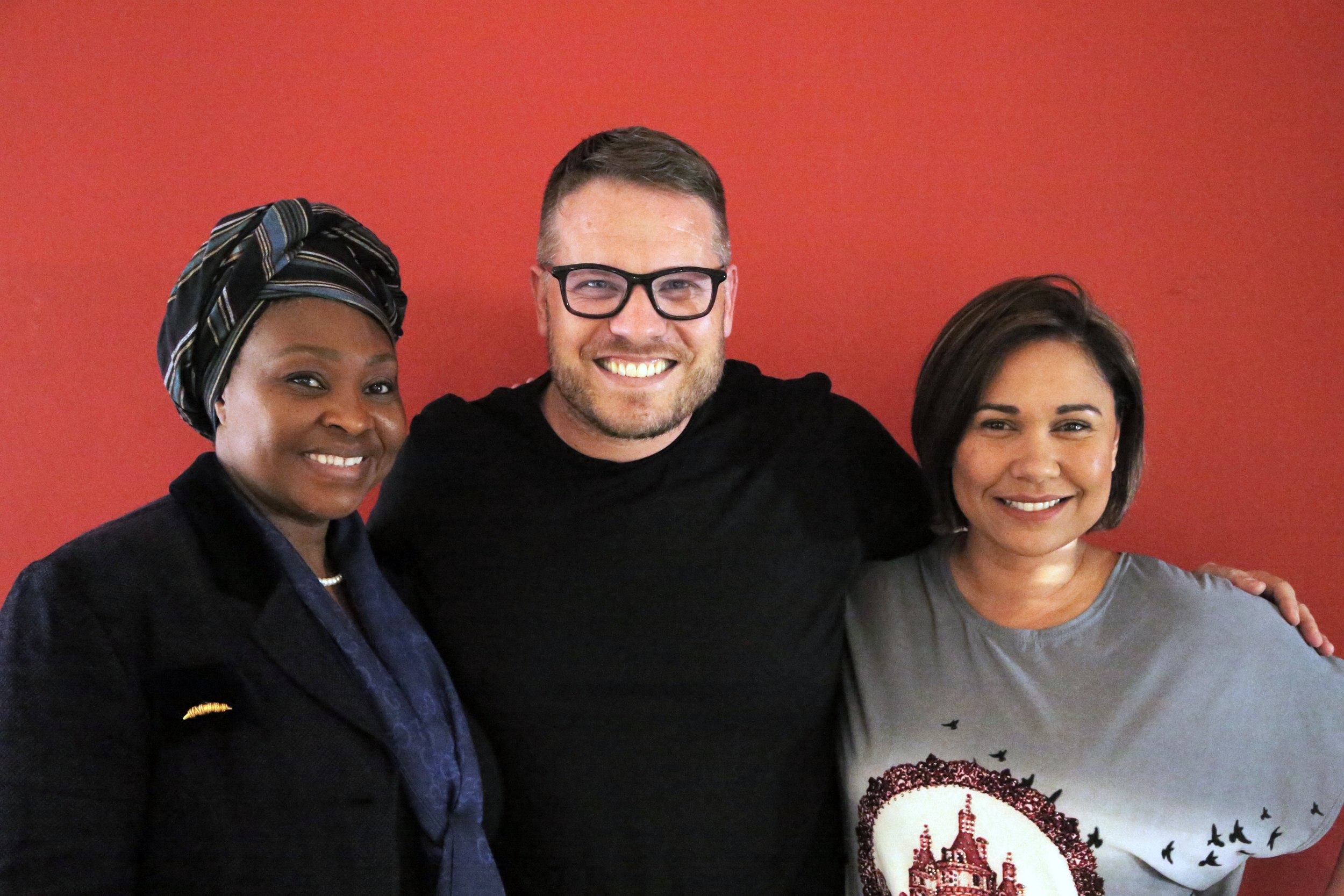 Yvonne Chaka-Chaka, Handrie Basson & Kim Cloete