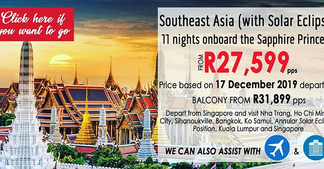 In Partnership with Princess Cruises, we bring you amazing December cruising deals in Asia. Contact info@aurulenttravel.com or submit an online enquiry via www.aurulenttravel.com/enquire #travel #cruise #Asia #luxury