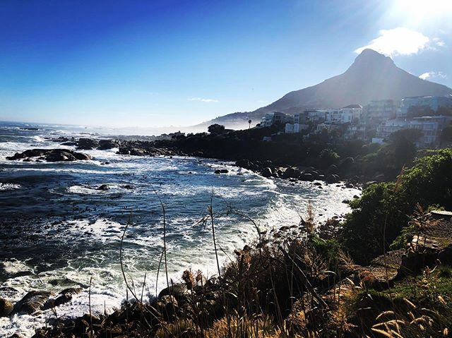 Camps Bay winter mornings. #campsbay #capetown #beach #mountain #winter #travel