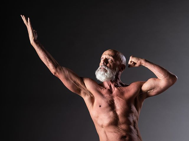 In the pursuit of perfection 💪 Studio shoot with @walteratyourservice who is a 62 year old body builder. . #daletidyphoto