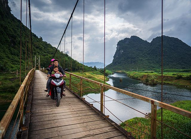 The road less travelled. Phong Nha, Vietnam.  #daletidyphoto @pro.shooters
