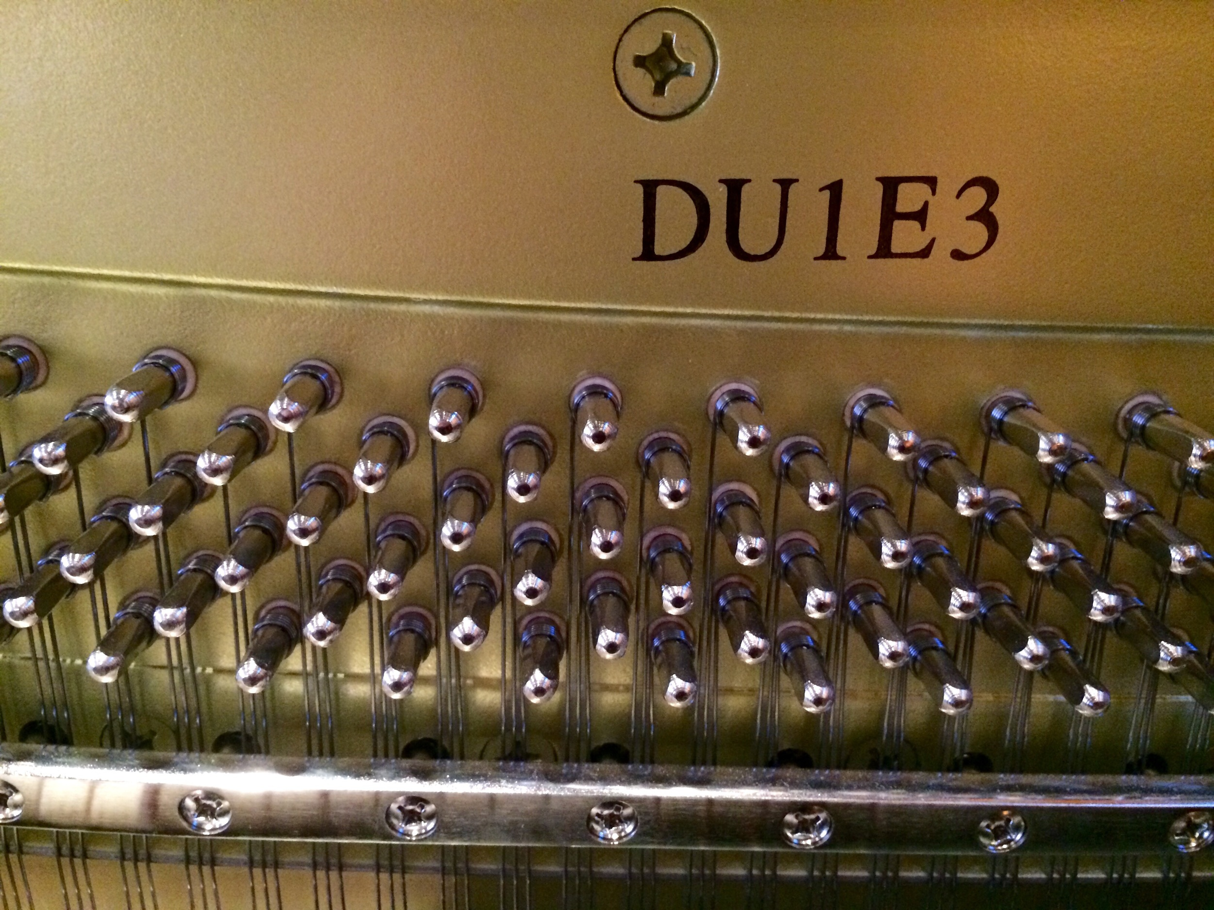 Yamaha DU1 piano