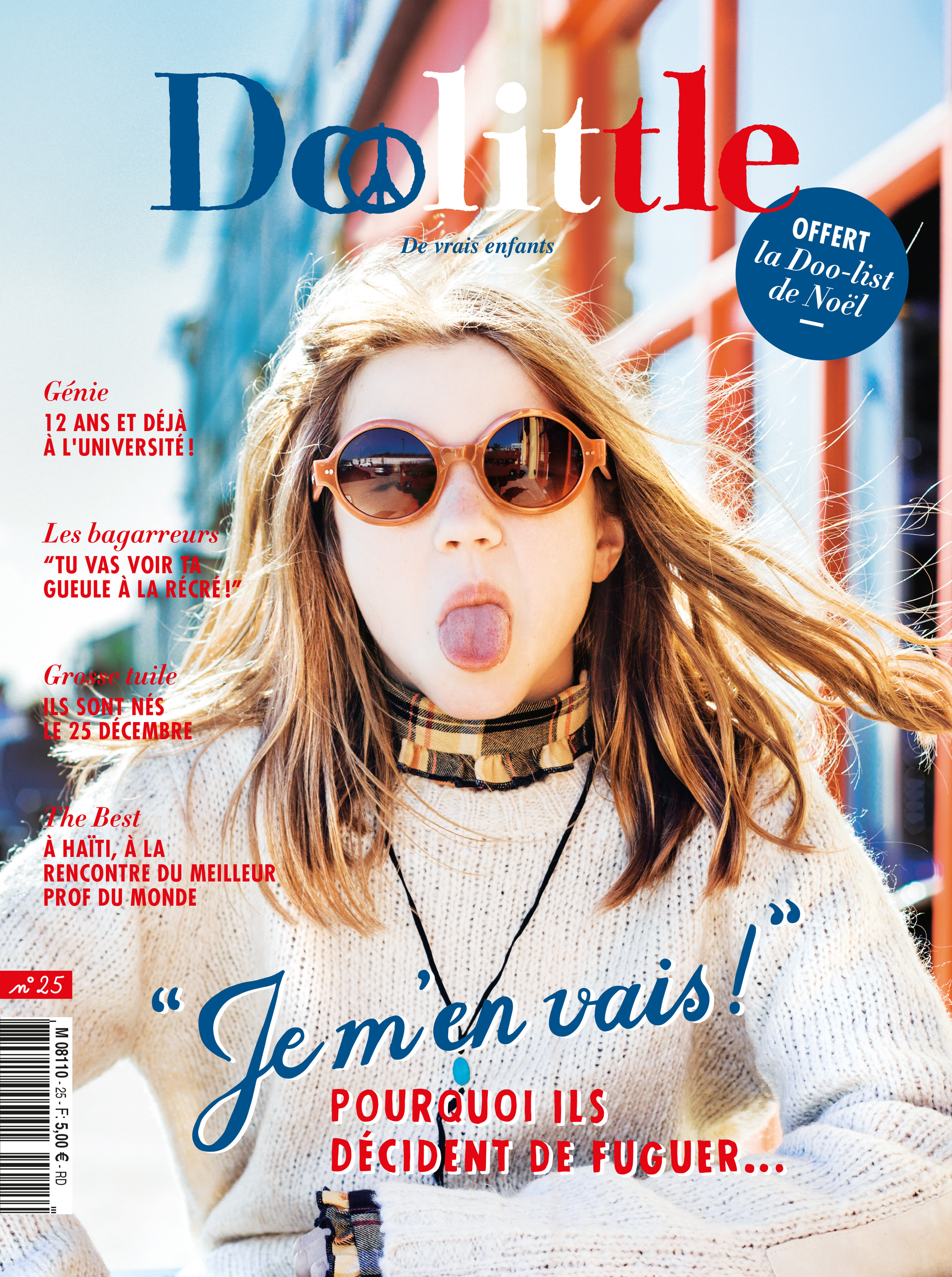 Doolittle Magazine, December 2015 cover