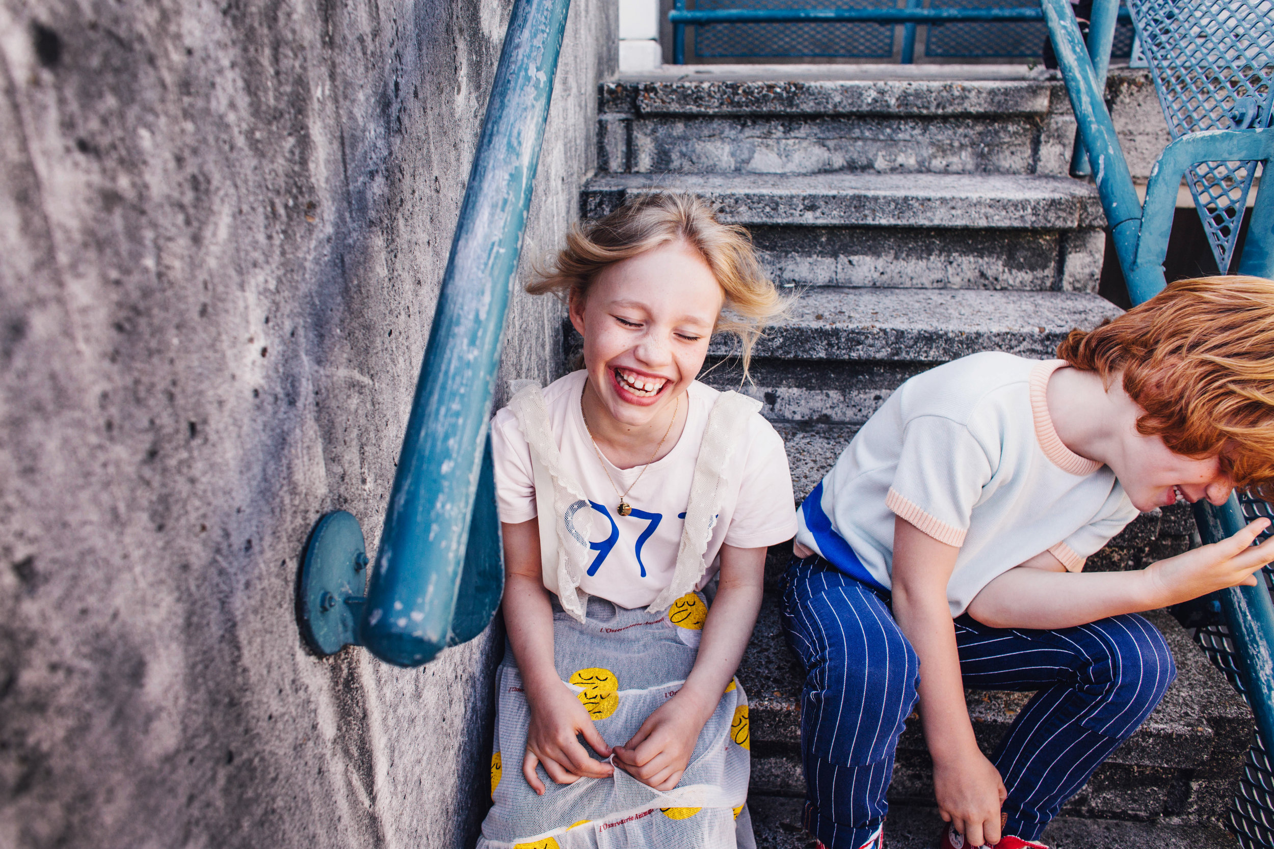 Concrete Schoolyard - Forever Young Magazine August 2017