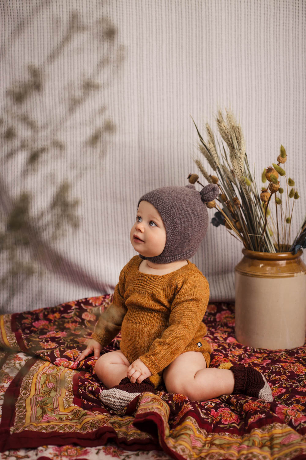 Winter Florals editorial, Baby Magazine, November 2018