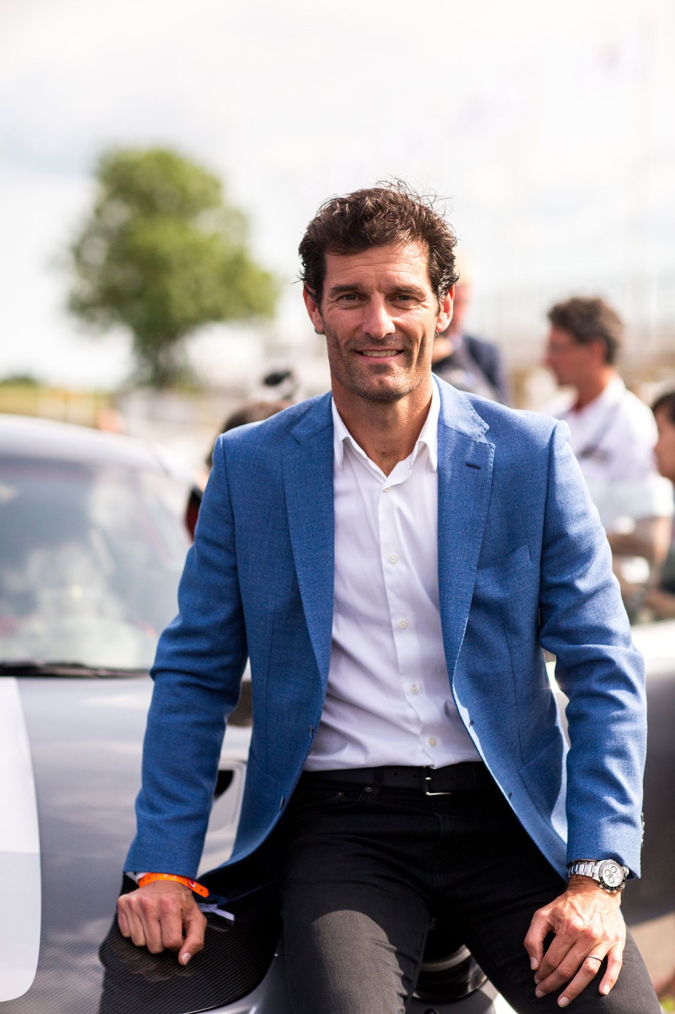mark webber racing driver goodwood portrait