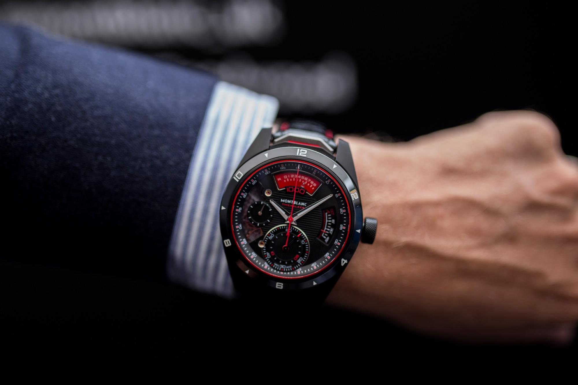 Mont Blanc Luxury watch