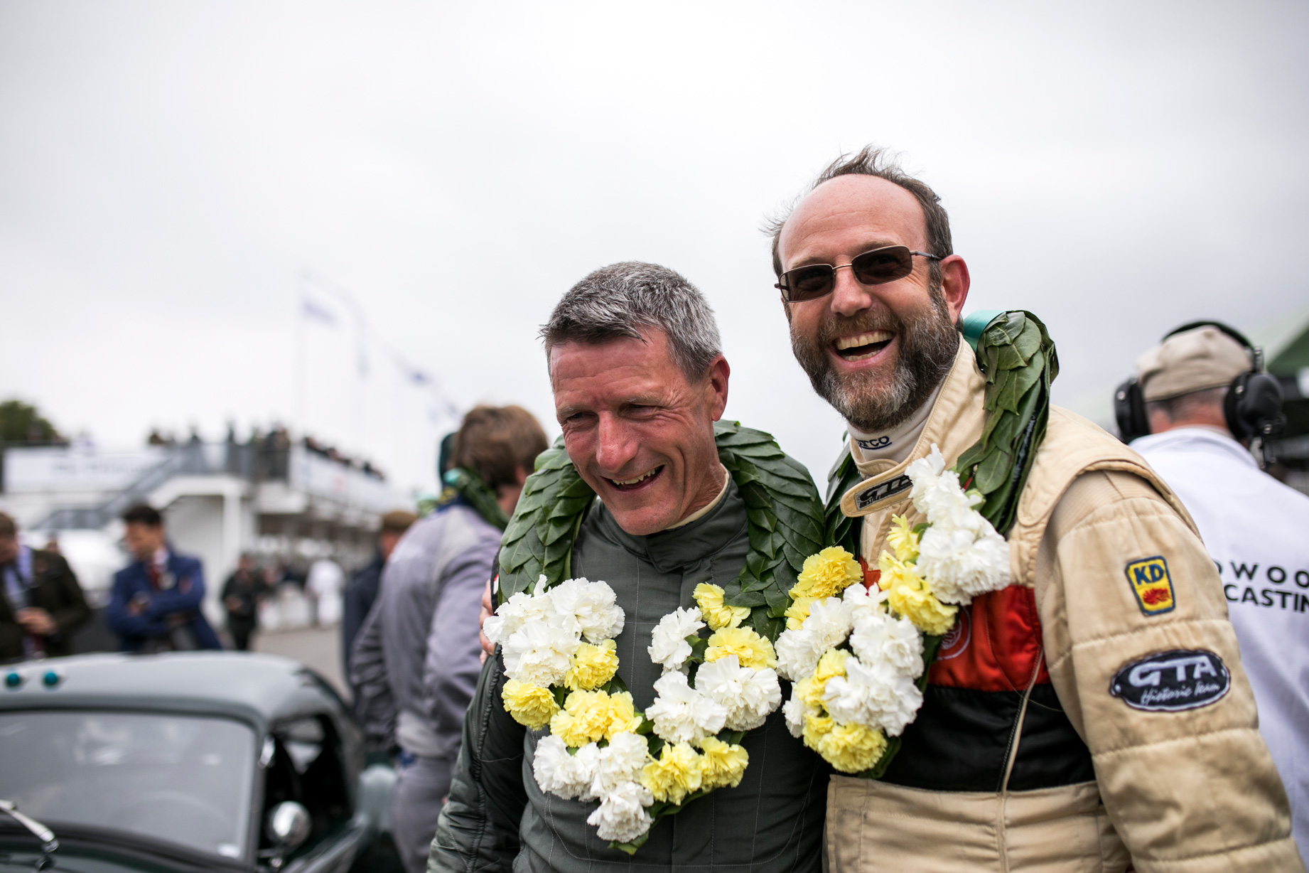 famous racing drivers winning tt race