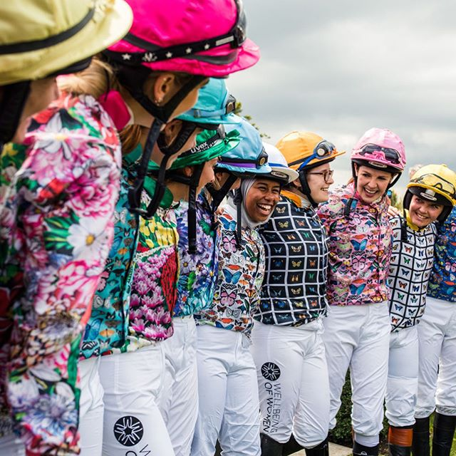 A little delayed but some highlights from yesterday's magnolia cup! So proud of these ladies for training so hard to raise money for this years chosen charity Wellbeing of Women. 🏇🏽 _ #Glorious #GQF #Magnoliacup #silks #ladiesrace #charity #lifestylephotographer #goodwood #raceday #eventphotography